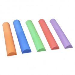 Falda rosa flúor con...